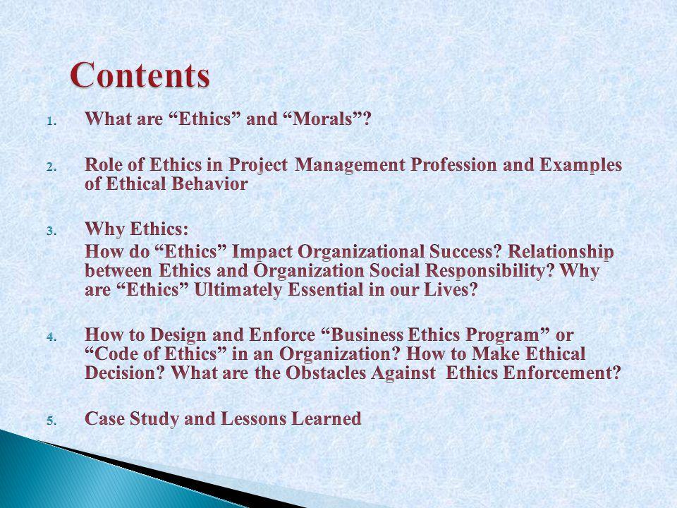 Contents Contents