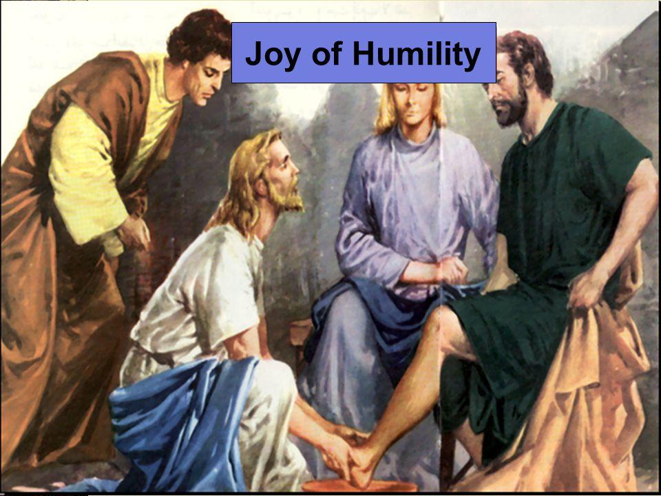 Joy of Humility