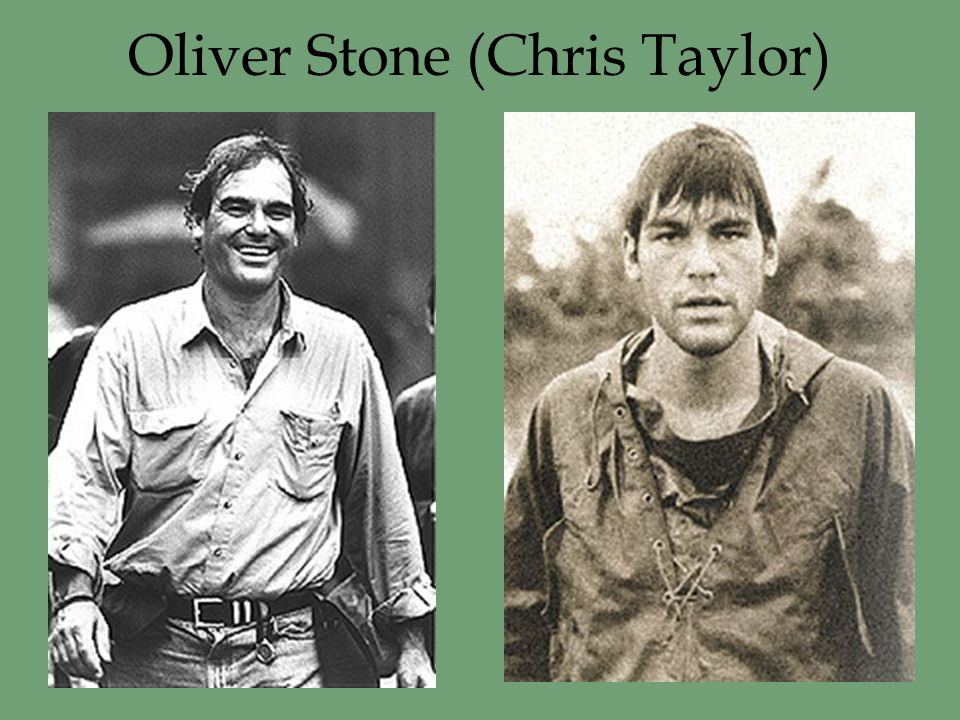 Oliver Stone (Chris Taylor)