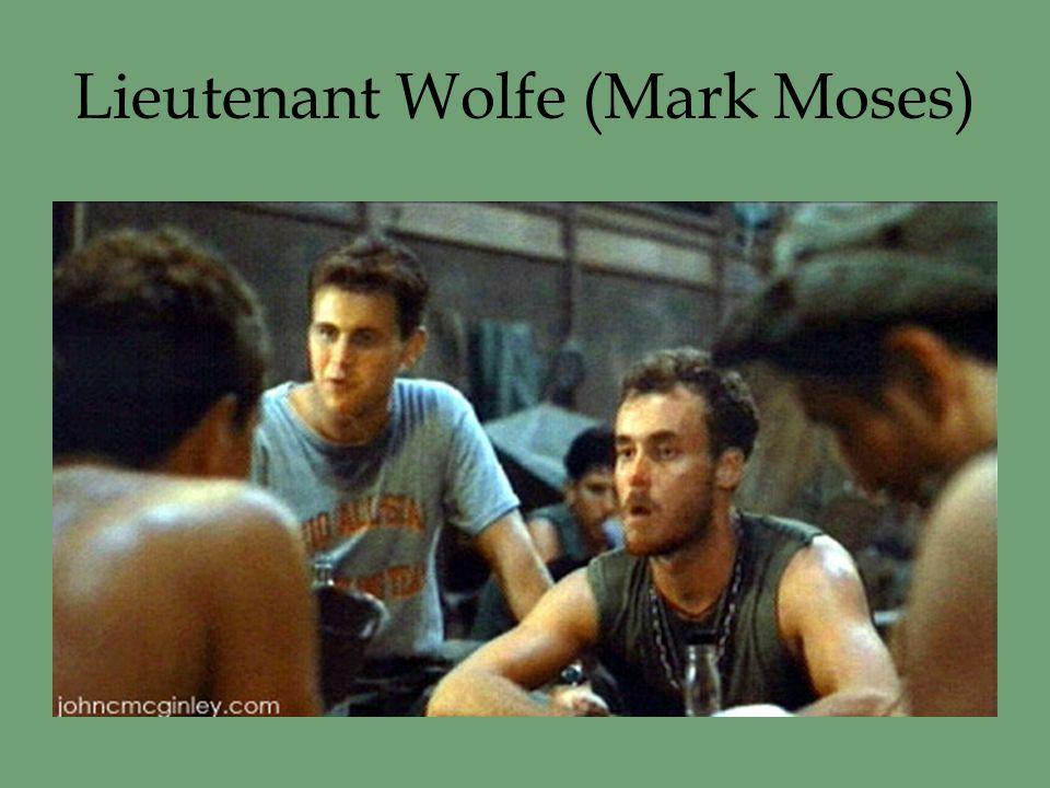 Lieutenant Wolfe (Mark Moses)