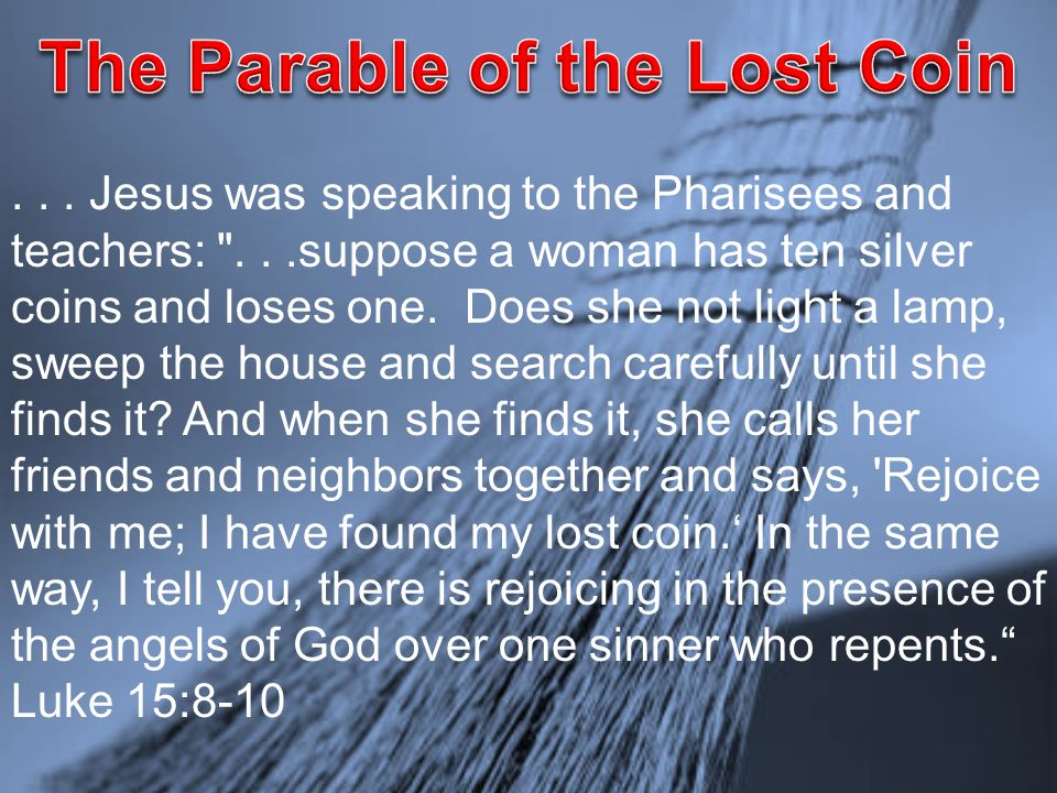 ... Jesus was speaking to the Pharisees and teachers: