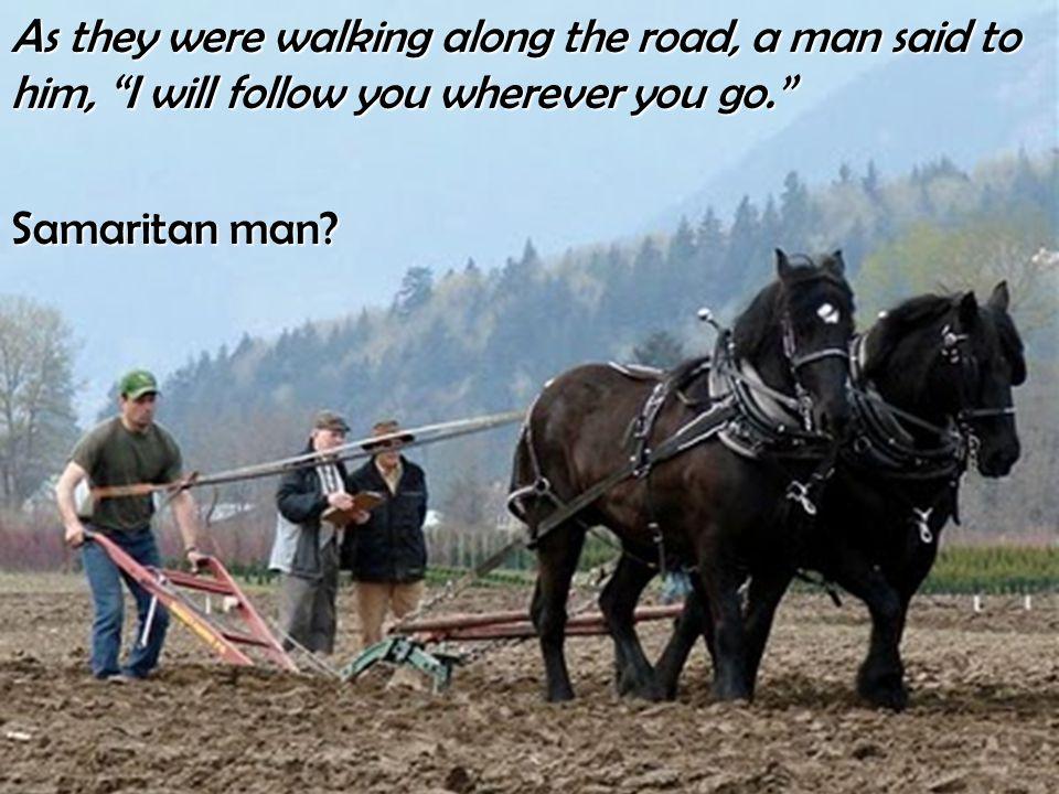 Samaritan man
