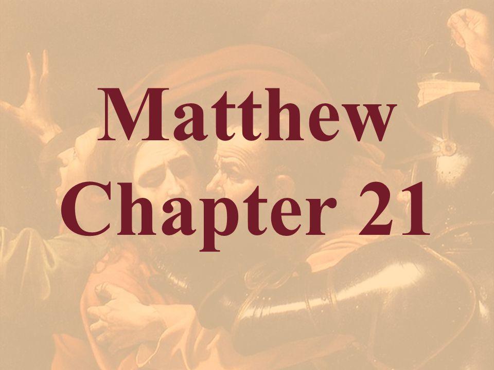 Matthew Chapter 21