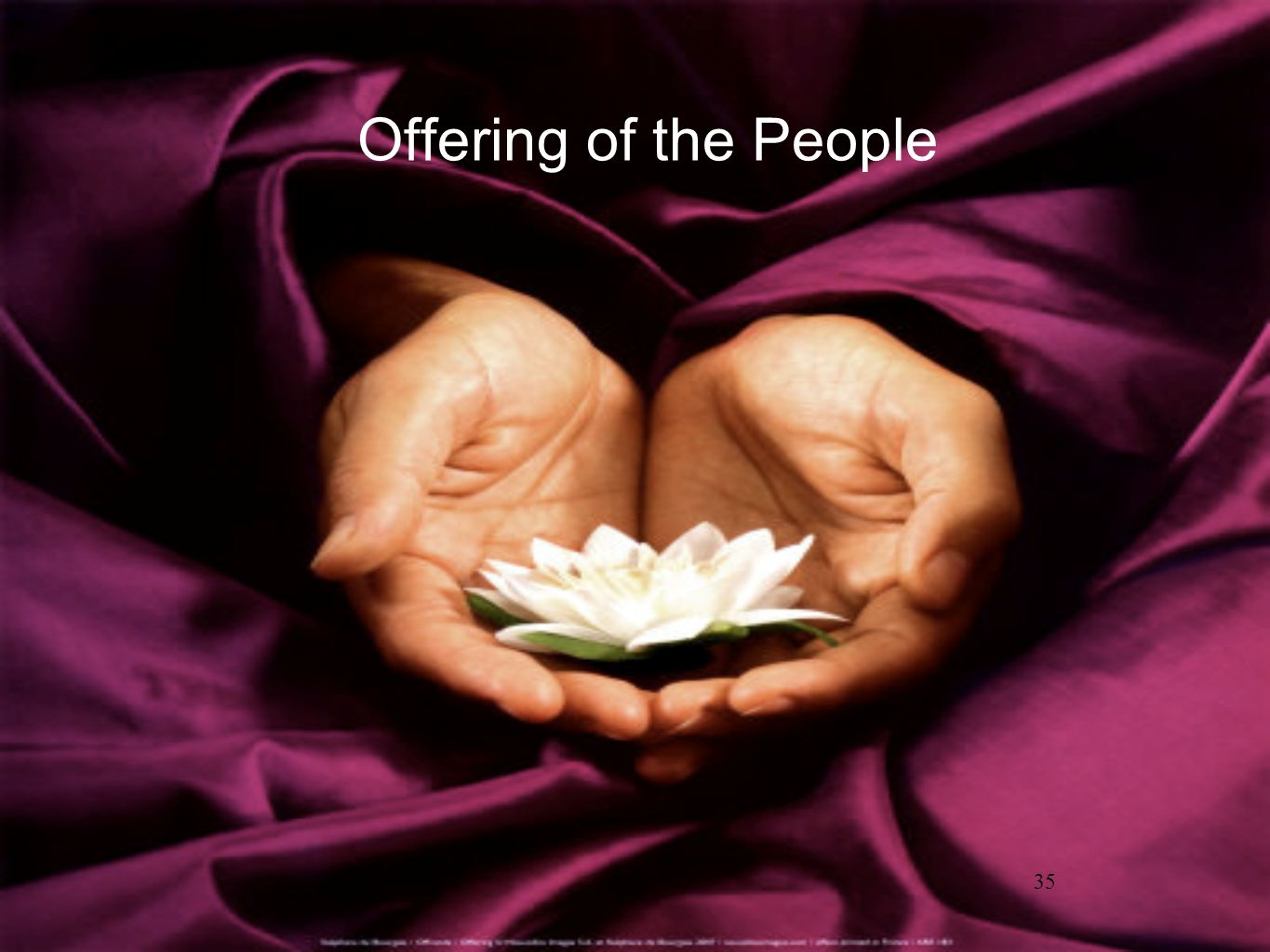35 Offering of the People