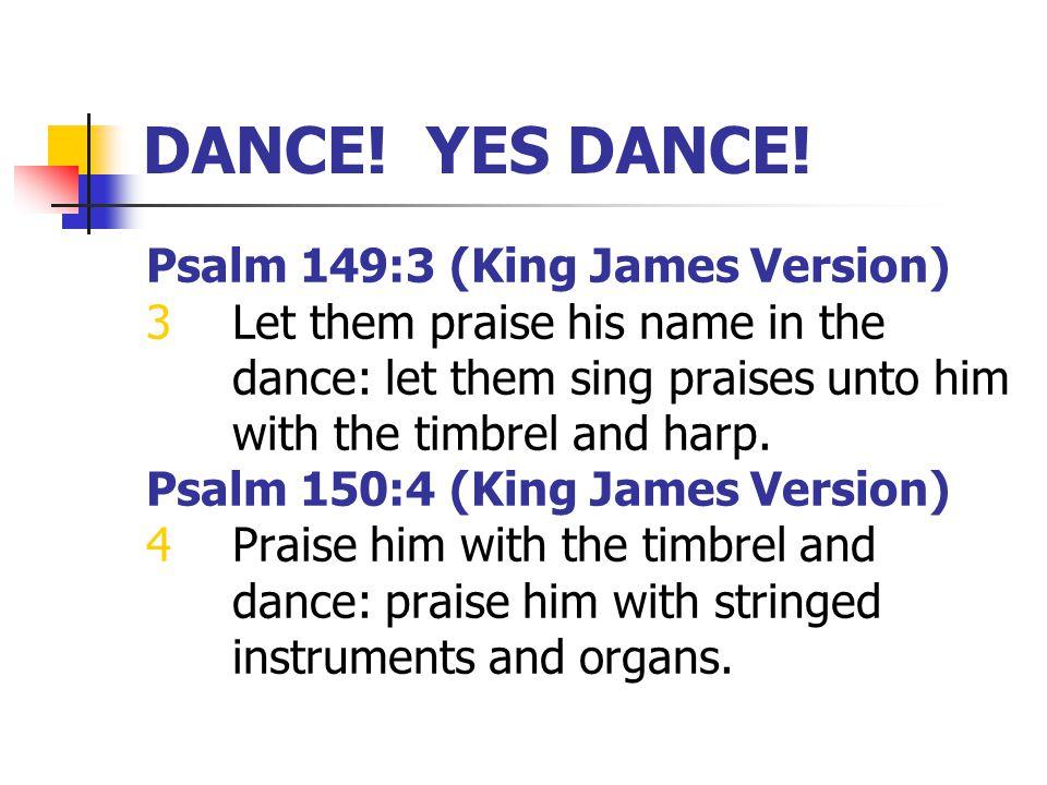 DANCE. YES DANCE.