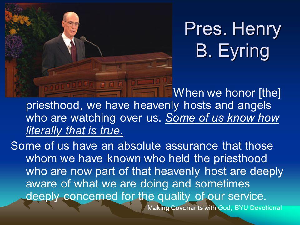 Pres. Henry B.