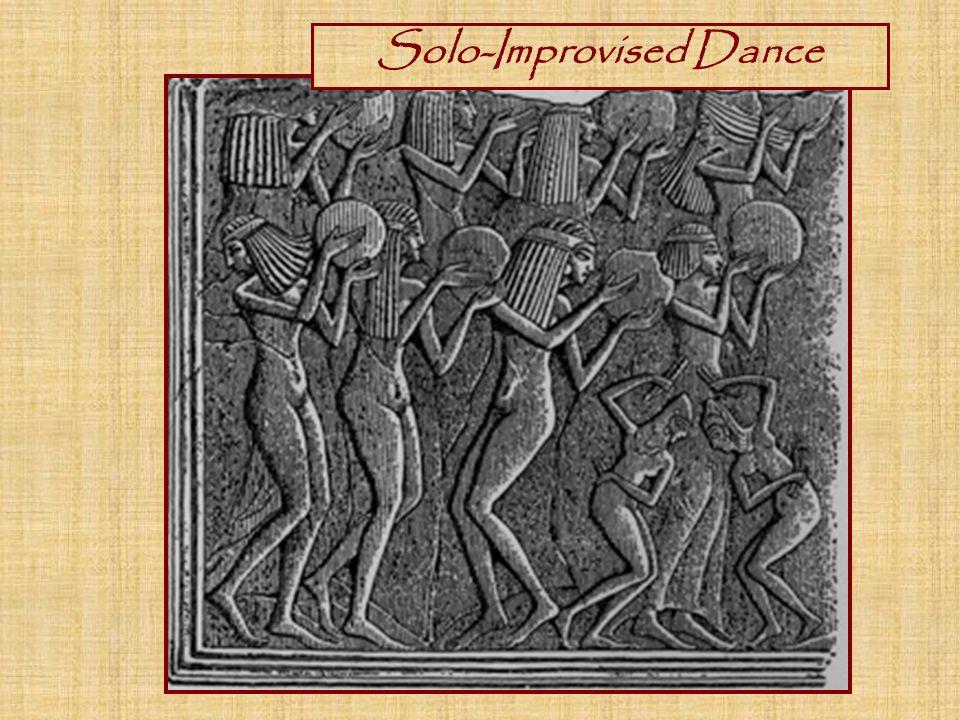 Solo-Improvised Dance
