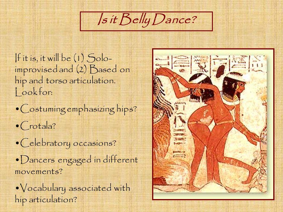 Is it Belly Dance.