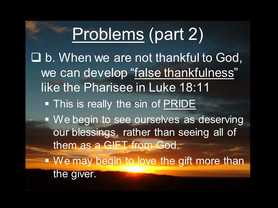 Problems (part 2)  b.