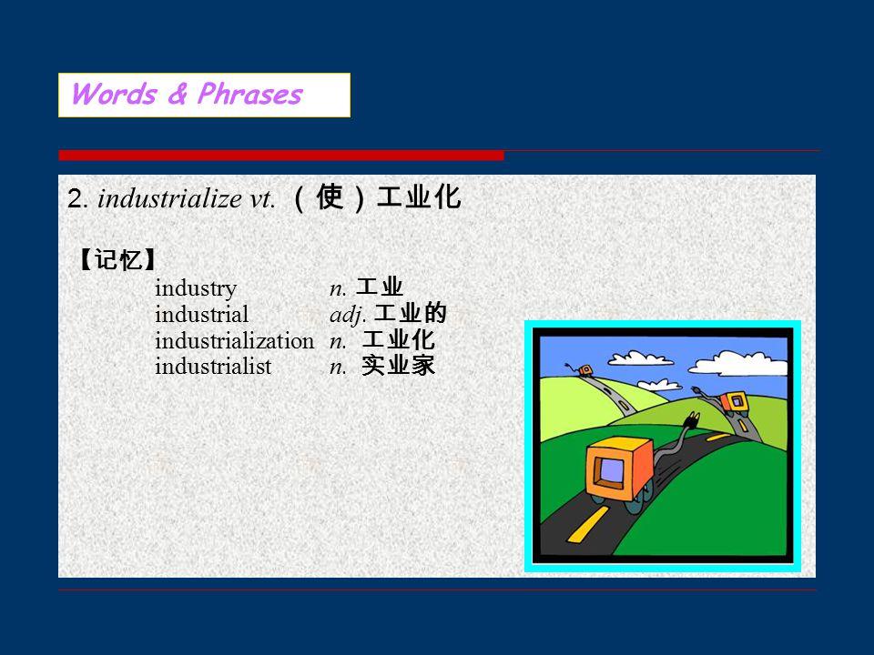 Words & Phrases 1. addict n. 上瘾的人 【记忆】 addict vt.