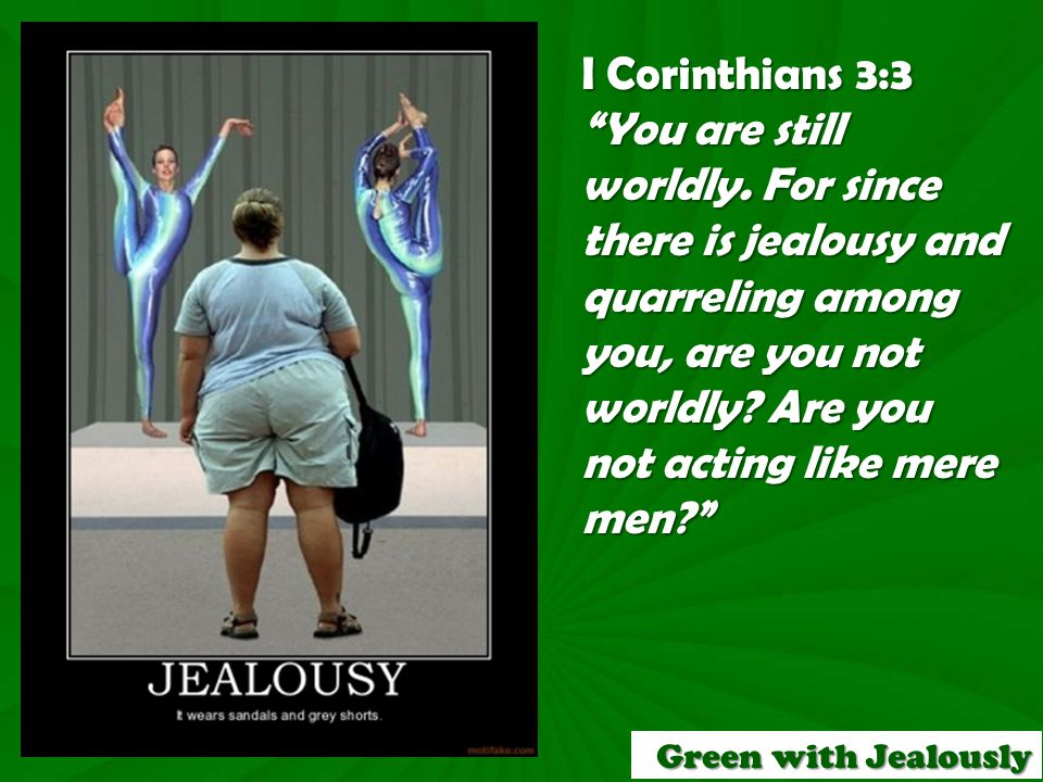 D.So how do we overcome the sin of jealousy.