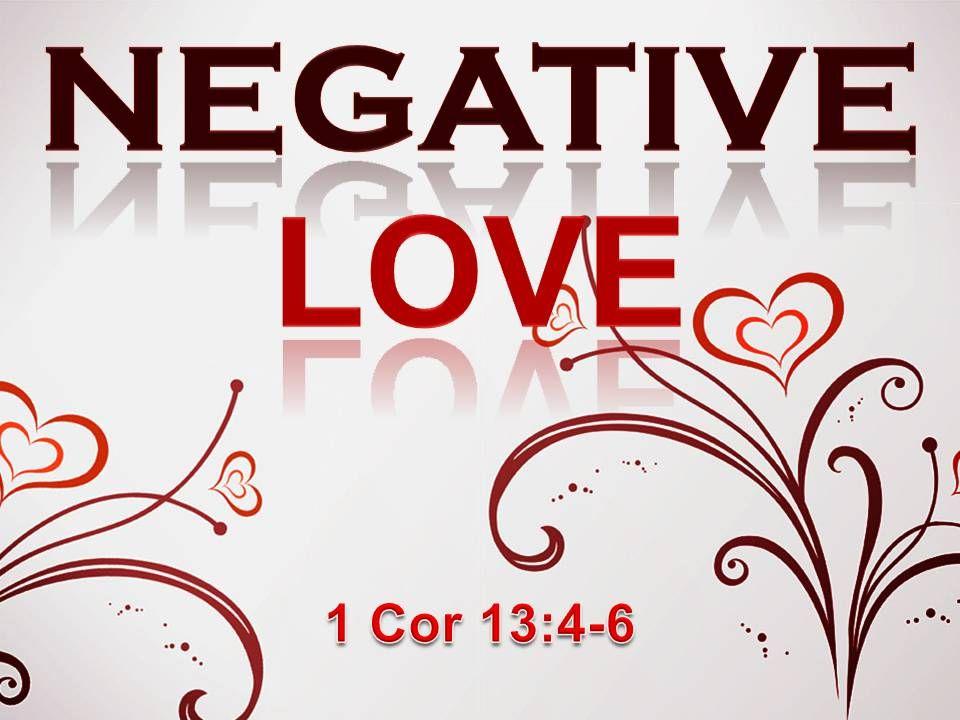 ♥ Love is not irritable.