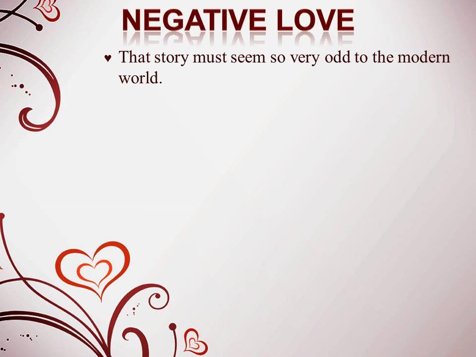 ♥ Love is not resentful.
