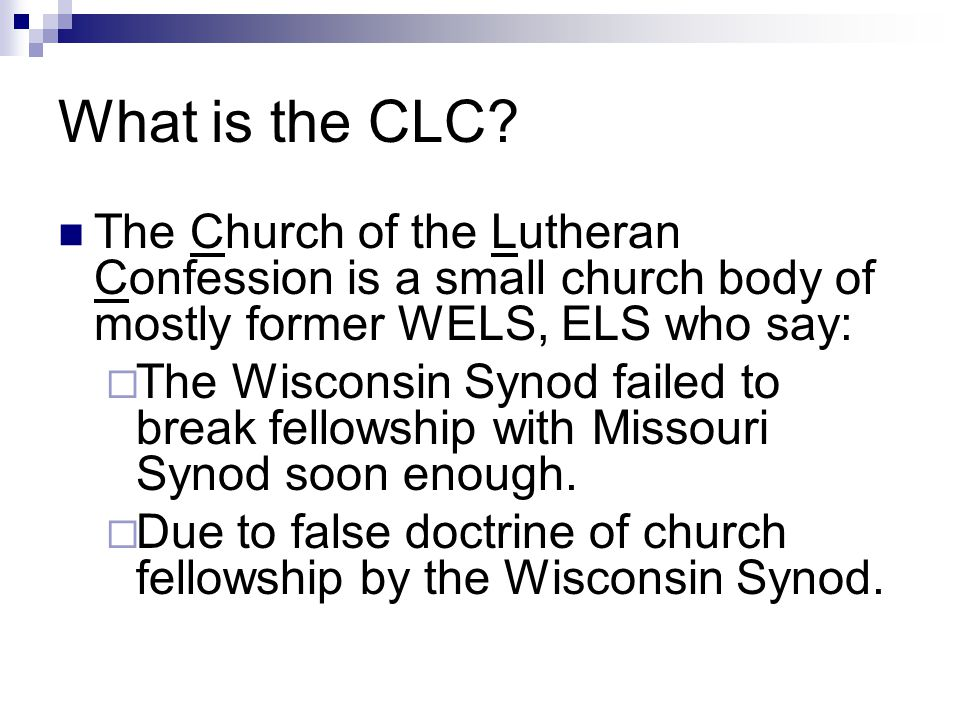 What is the CLC.