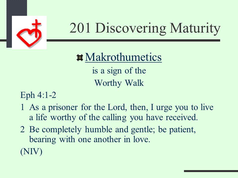 Makrothumeo Is a fruit of the Spirit Gal 5:22 22But the fruit of the Spirit is love, joy, peace, patience, kindness, goodness, faithfulness, (NIV)