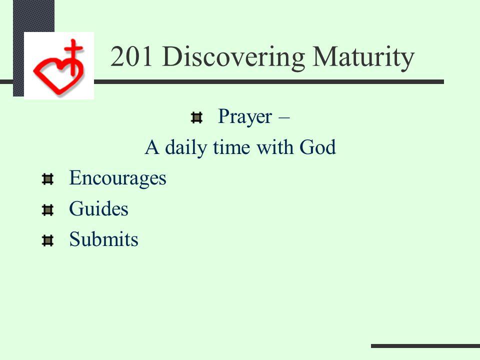 Maturity Empowers Others Prayer Finance Fellowship