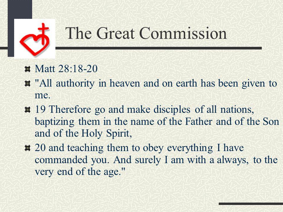 The Great Commandment Matt 22:37-39 37 Jesus replied: