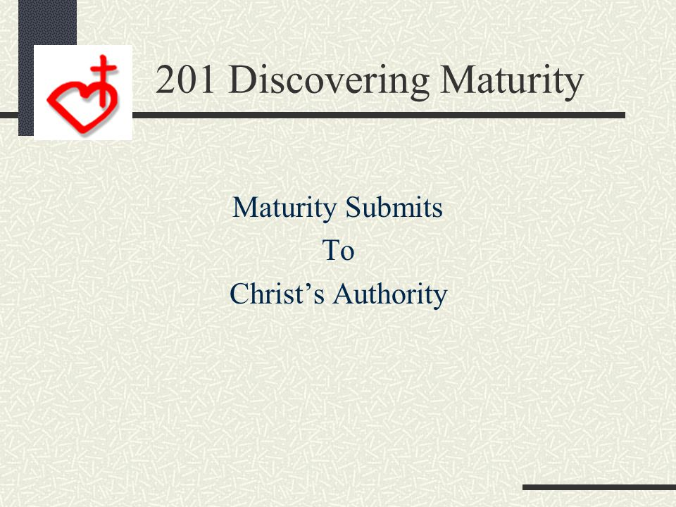 Lordship Releases Maturity James 3:13-15 13 Who is wise and understanding among you? Let him show it by his good life, by deeds done in the humility t