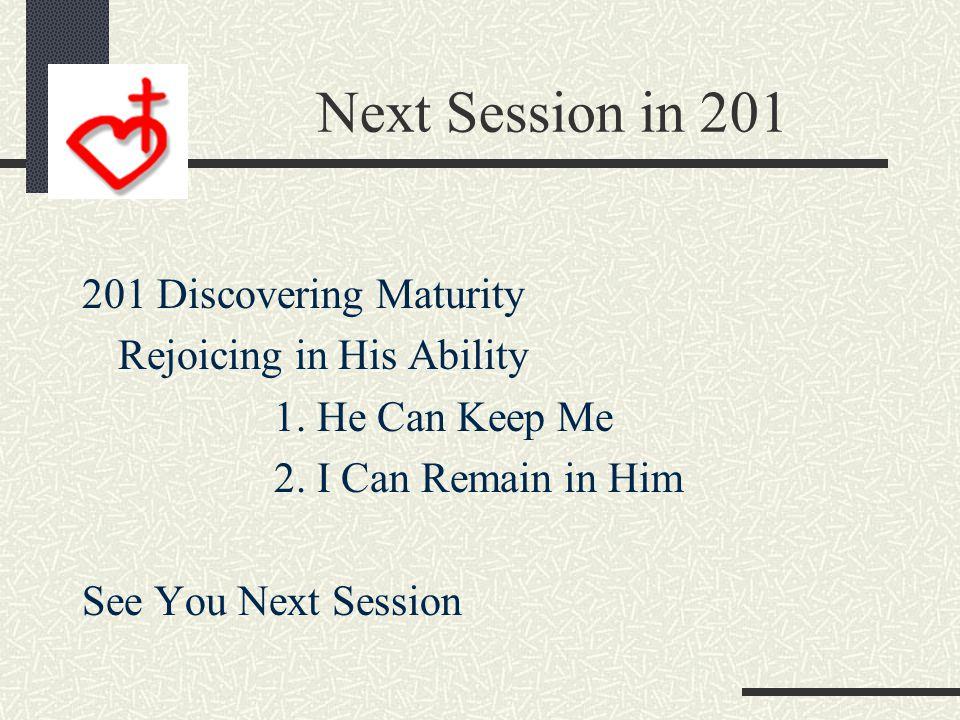 Three Areas of Maturity Time Talent Treasure