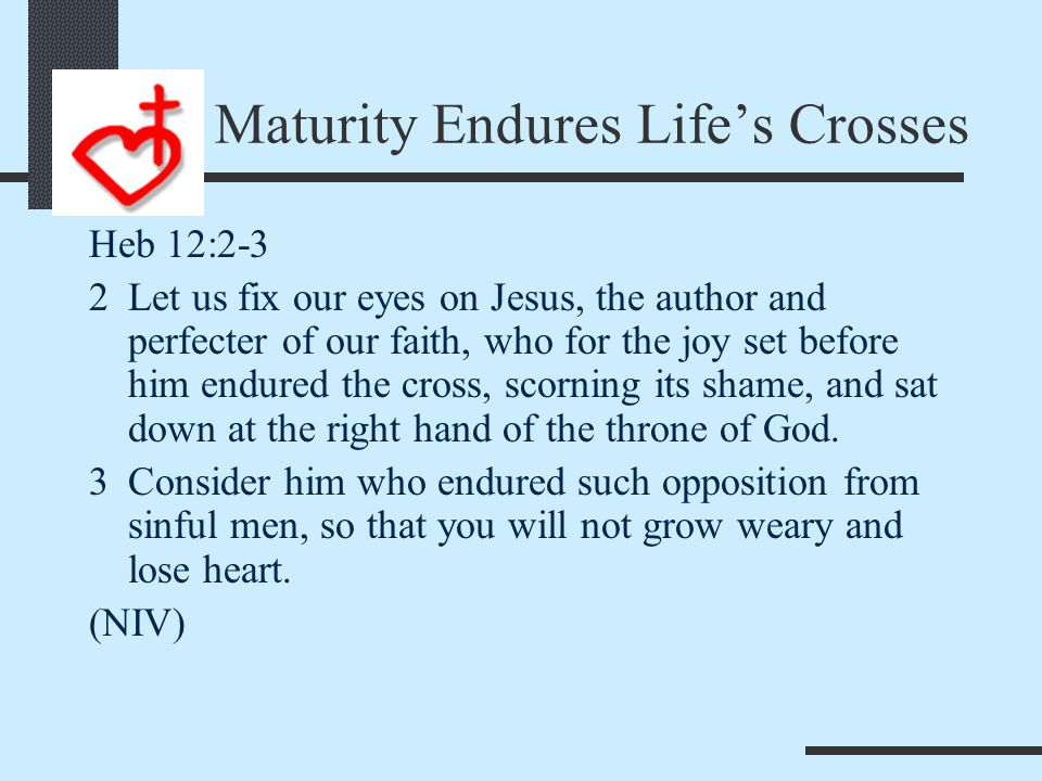 Maturity Sacrifices for Others 2 Tim 2:10 10Therefore I endure everything for the sake of the elect, that they too may obtain the salvation that is in Christ Jesus, with eternal glory.