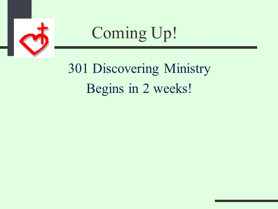 201 Discovering Maturity How do we do this? 101 Discovering Membership 201 Discovering Maturity 301 Discovering Ministry 401 Discovering Mission