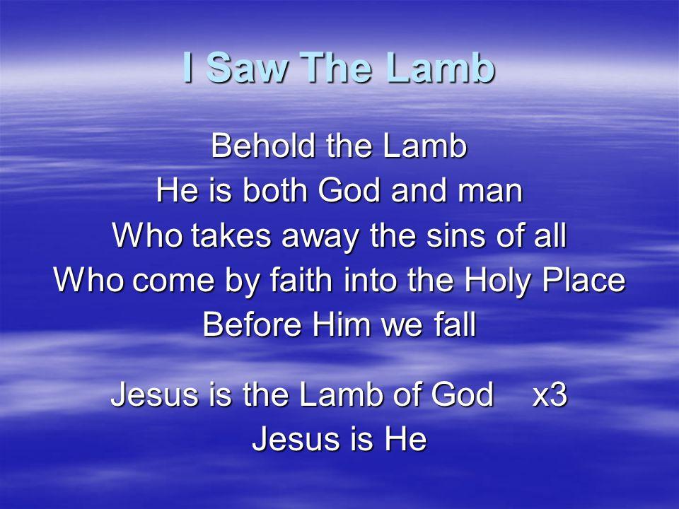 It's By The Grace Of God It's by the grace of God that we can see It's by the grace of God He set us free It's by the grace of God that we enter in It's by the grace of God we're free from sin