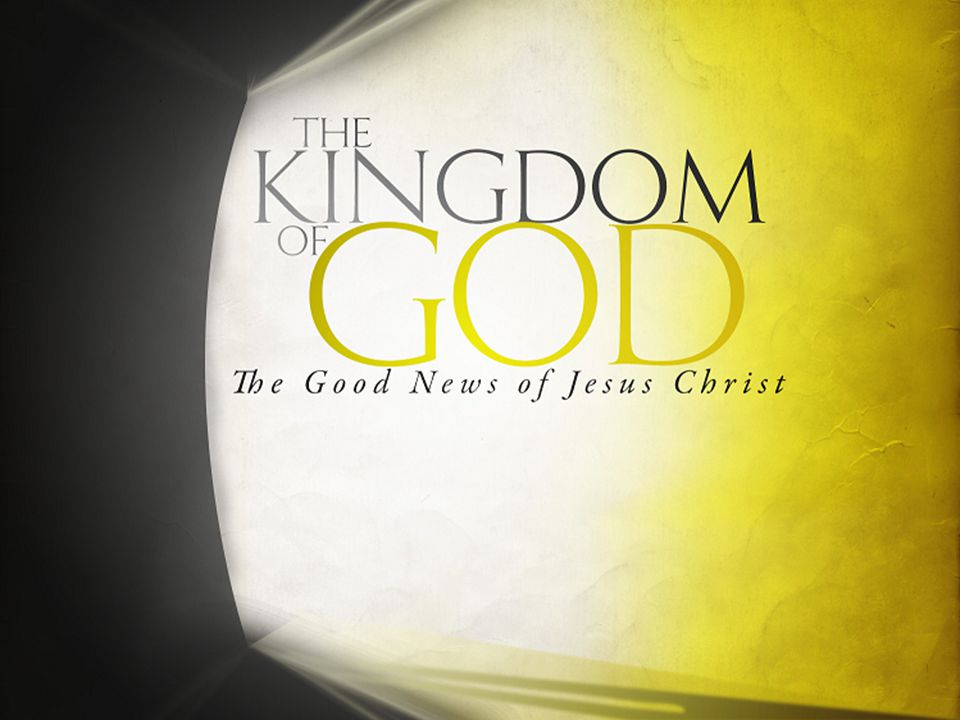 The Gospel of the Kingdom of God In this series we shall study – Plans, Prophecies, and Expectations – The Kingdom Is At Hand.
