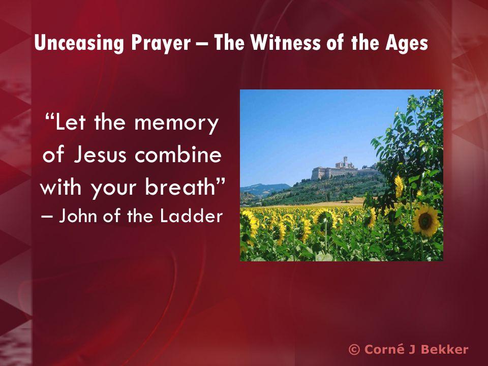 The Practice of Breath Prayer Jesus, Saviour, Son of God, have mercy on me. - based on Luke 18:13