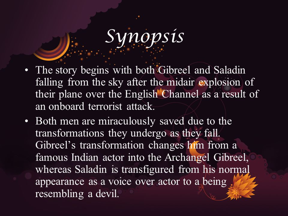 Synopsis After the fall, both men wash up onto a beach in their newly assumed forms.