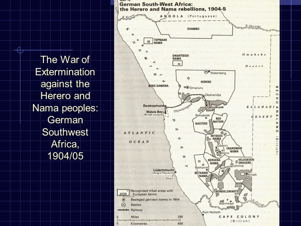 The War of Extermination against the Herero and Nama peoples: German Southwest Africa, 1904/05