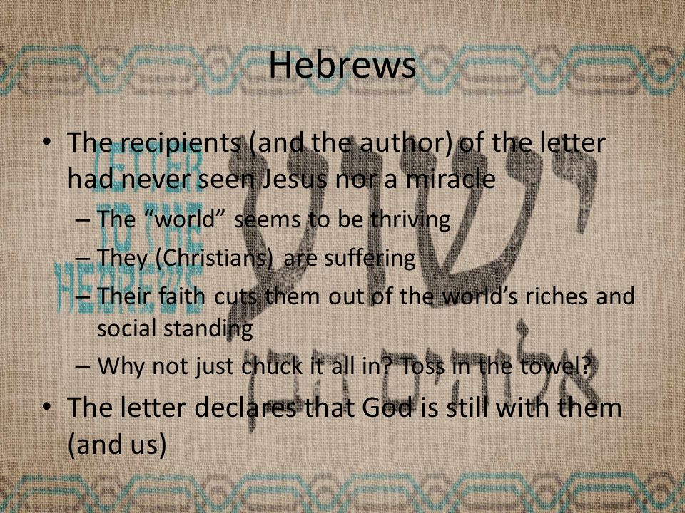 Hebrews 1:6 Psalm 97 and the LXX Deut passage clearly have the angels worshipping God, thus our author is clearly equating Jesus with God.