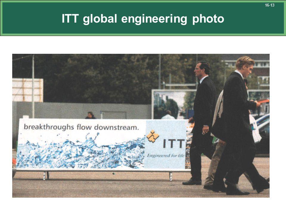 ITT global engineering photo 16-13