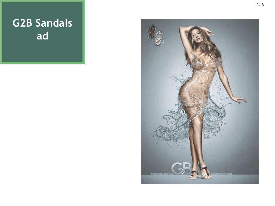 G2B Sandals ad 16-18
