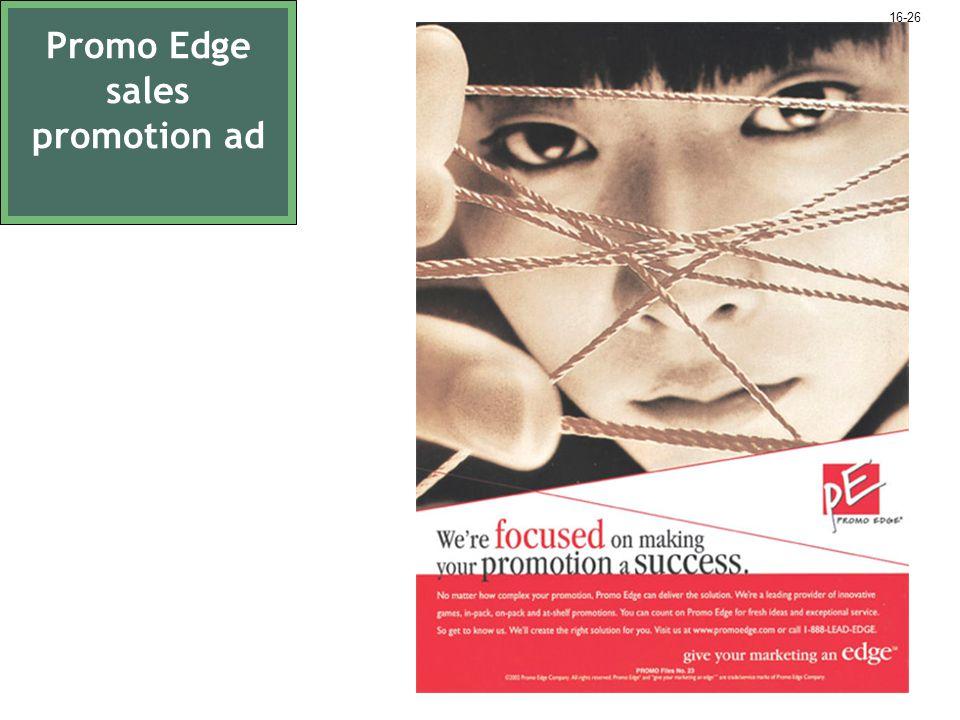 Promo Edge sales promotion ad 16-26