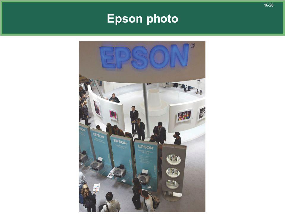 Epson photo 16-28