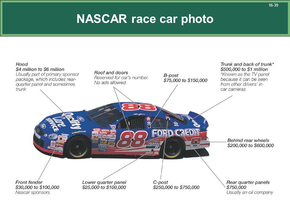 NASCAR race car photo 16-39