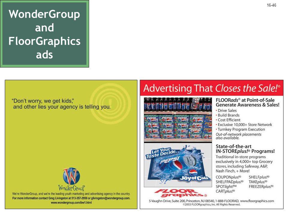 WonderGroup and FloorGraphics ads 16-46