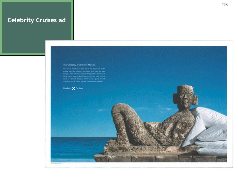 Celebrity Cruises ad 16-8