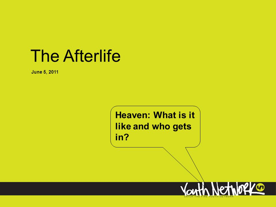 Heaven: What is it like and who gets in.What will we do in heaven.