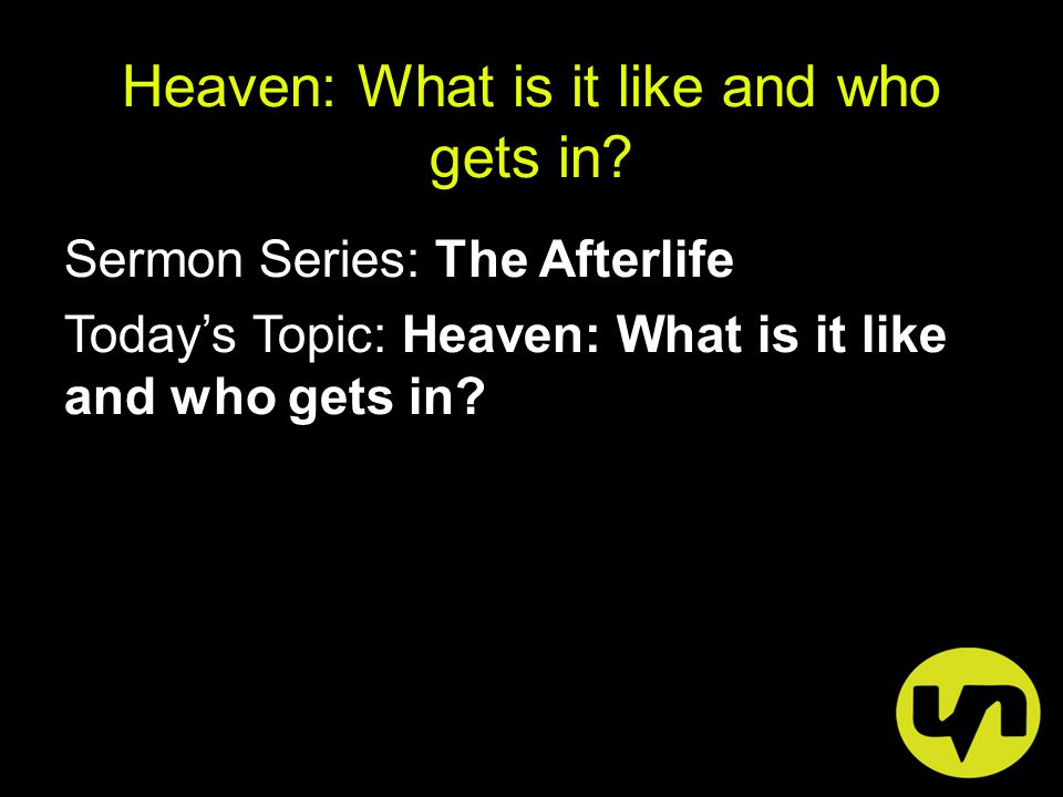 Did you know: - Eternity is one of the most common themes of the Bible.