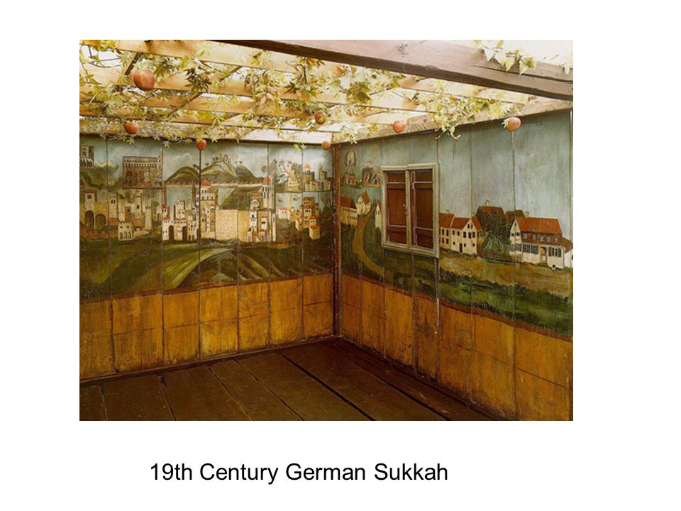 19th Century German Sukkah