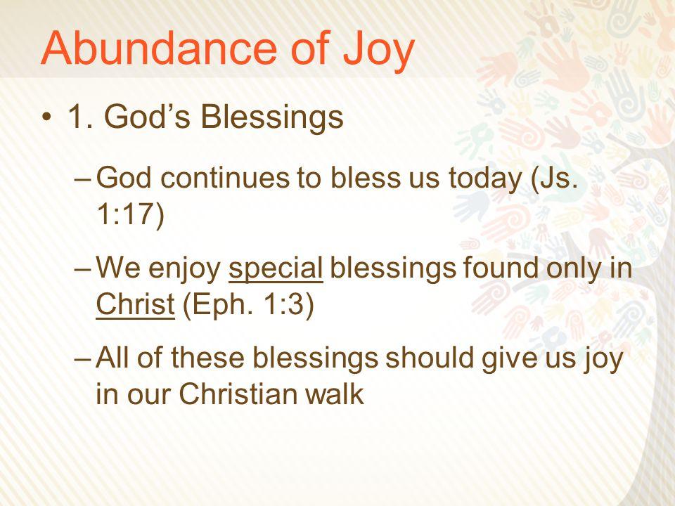 Abundance of Joy 2.