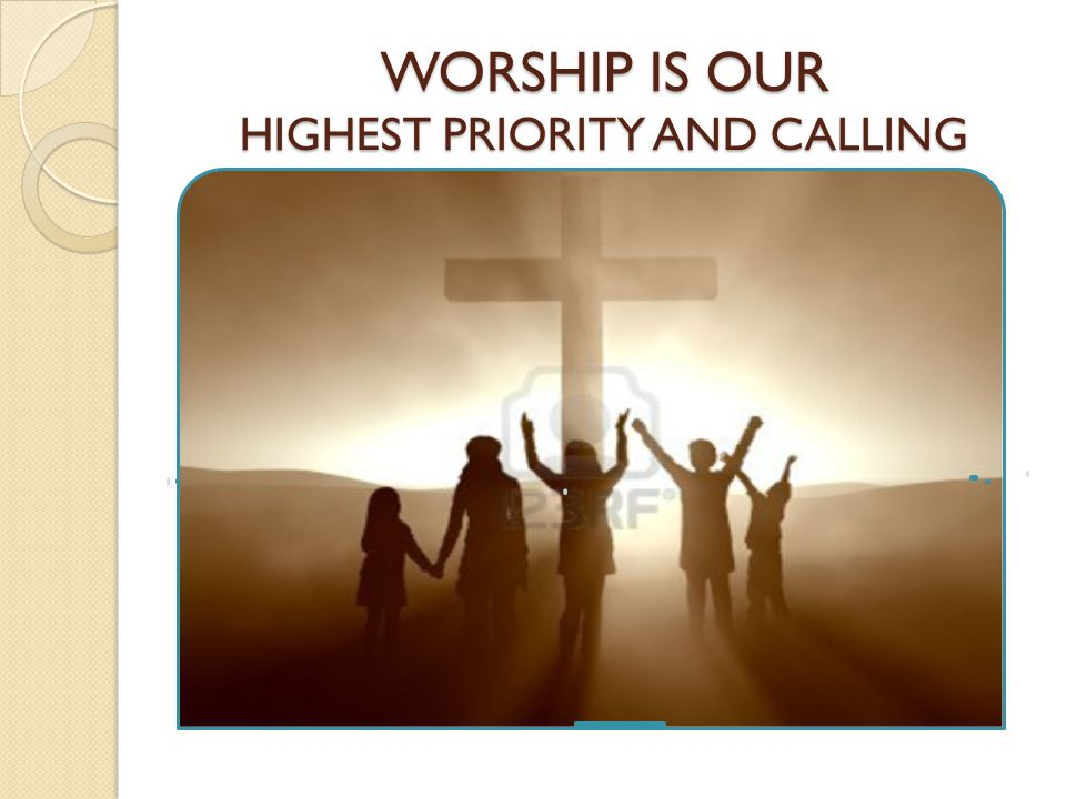 GOD IS WORTHY TO BE WORSHIPED