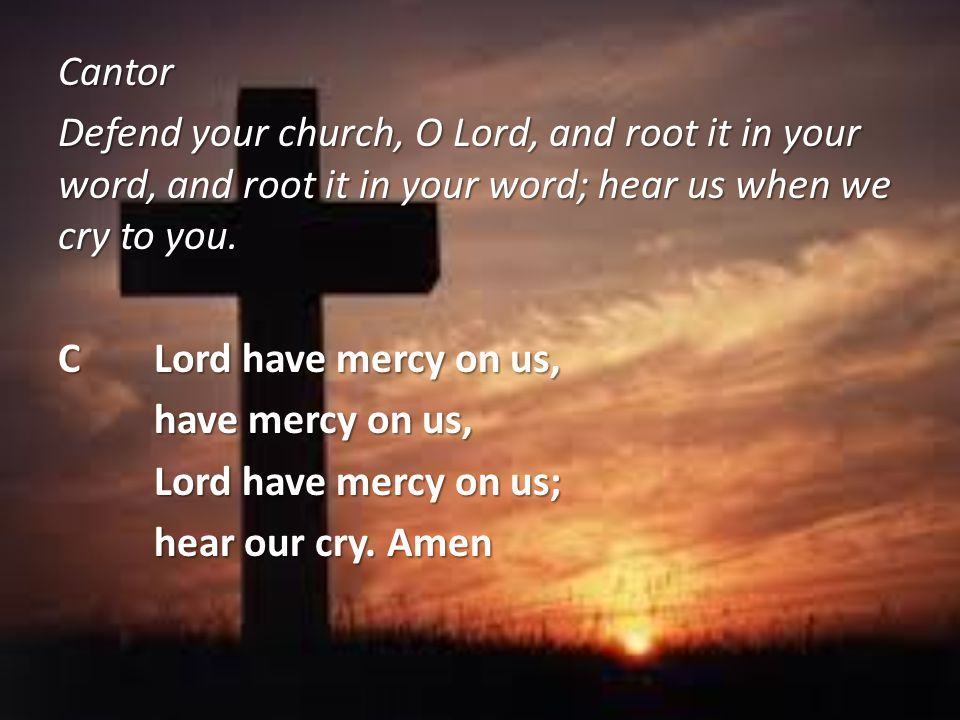 PIt is indeed right, our duty and our joy, that we should at all times and in all places give thanks and praise to you, almighty and merciful God, through our Savior Jesus Christ.