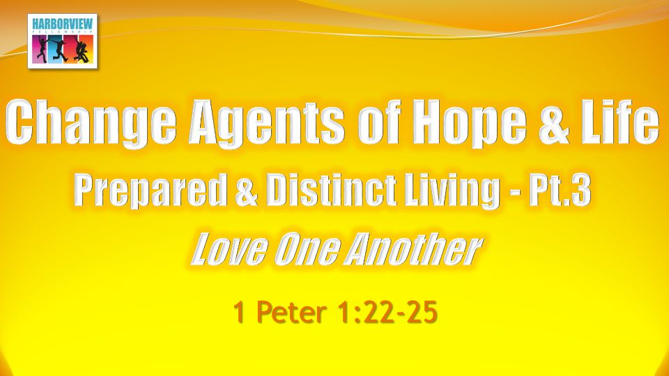 Love One Another Describing Real Love 1 Corinthians 13:4–8 Love...