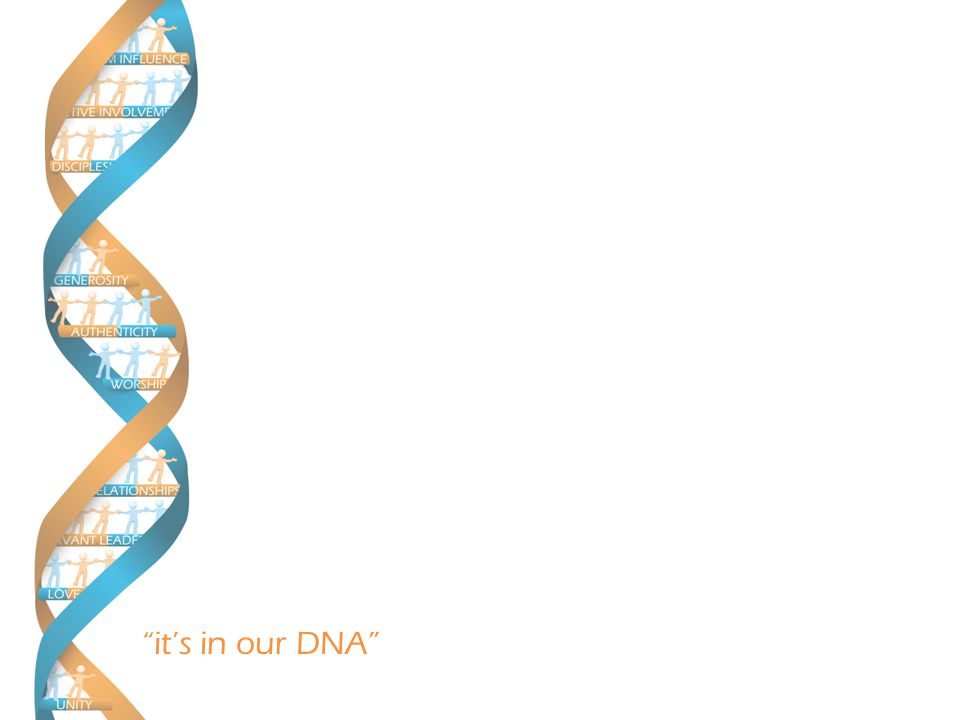 it's in our DNA