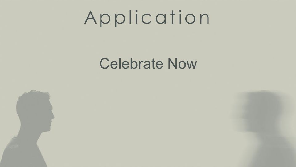 Application Celebrate Now
