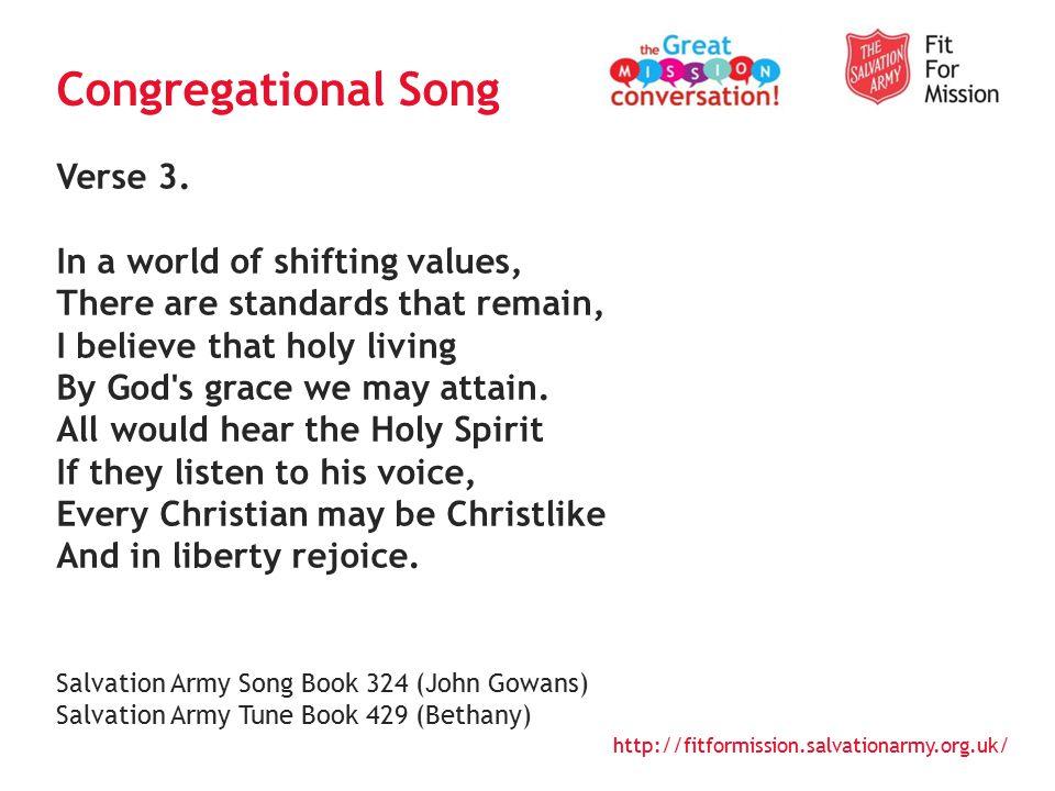 http://fitformission.salvationarmy.org.uk/ Verse 4.