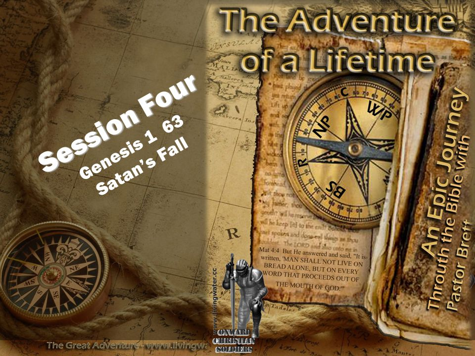 Session Four Session Four Genesis 1 63 Satan's Fall