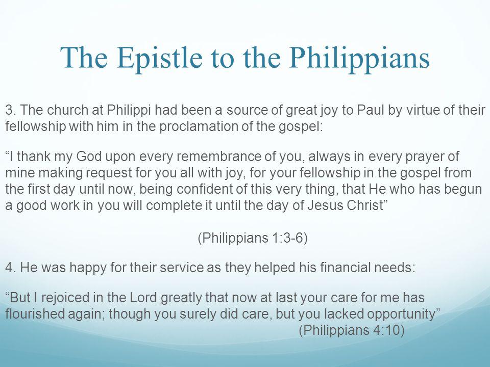 The Epistle to the Philippians 3.